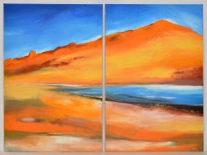 Landschaft abstralt III